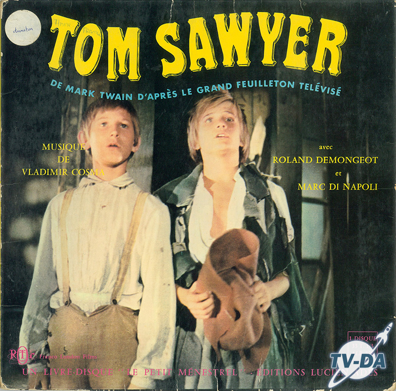 tom sawyer vinyle 33 tours