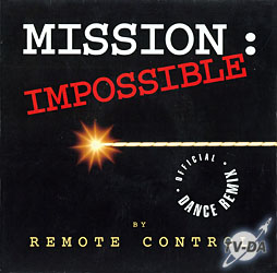 disque vinyle 45 tours mission impossible dance remix