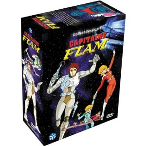 coffret 7 dvd capitaine flam
