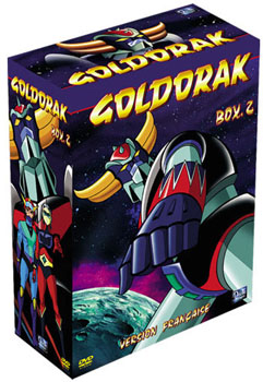 goldorak coffret dvd numero 2