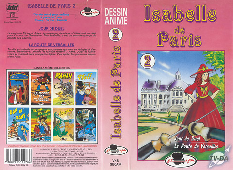 cassette video isabelle de paris