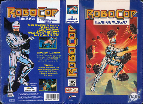 cassette video robocop