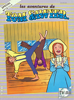 livre tom sawyer special numero 13