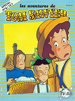 livre tom sawyer special numero 6