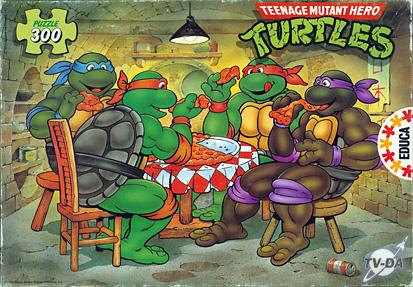 puzzle teenage mutant hero turtles