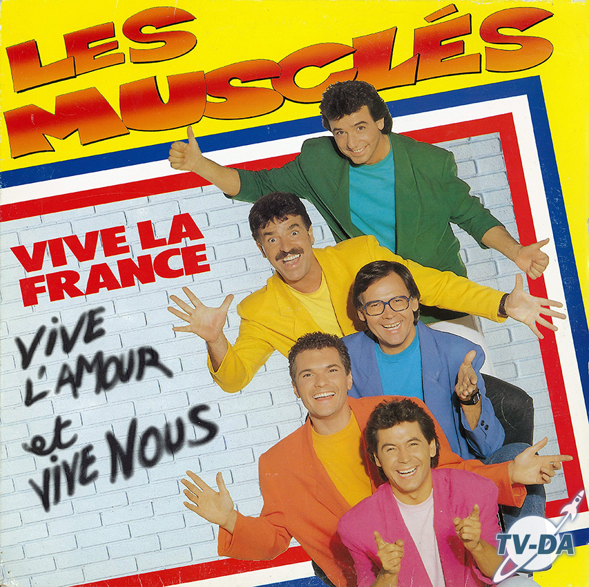 muscles vive la france  disque vinyle 33 tours
