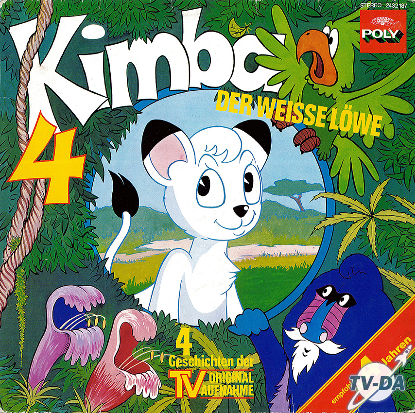 kimba der weisse lowe volume 4 disque vinyle 33 tours