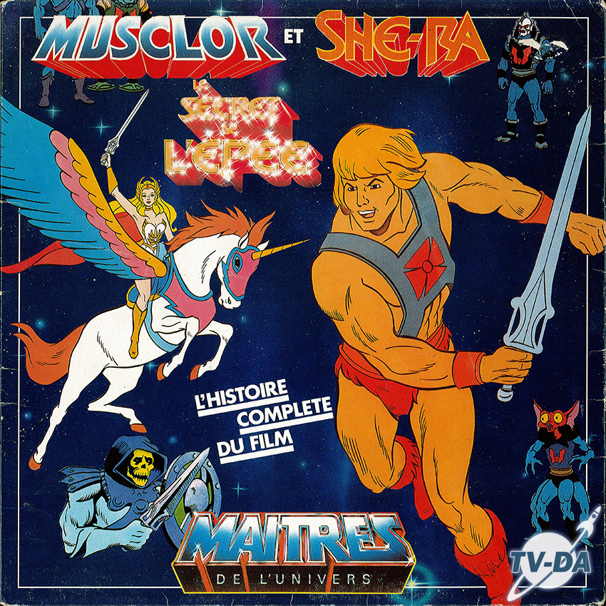 maitres de l univers musclor shera secret epee magique