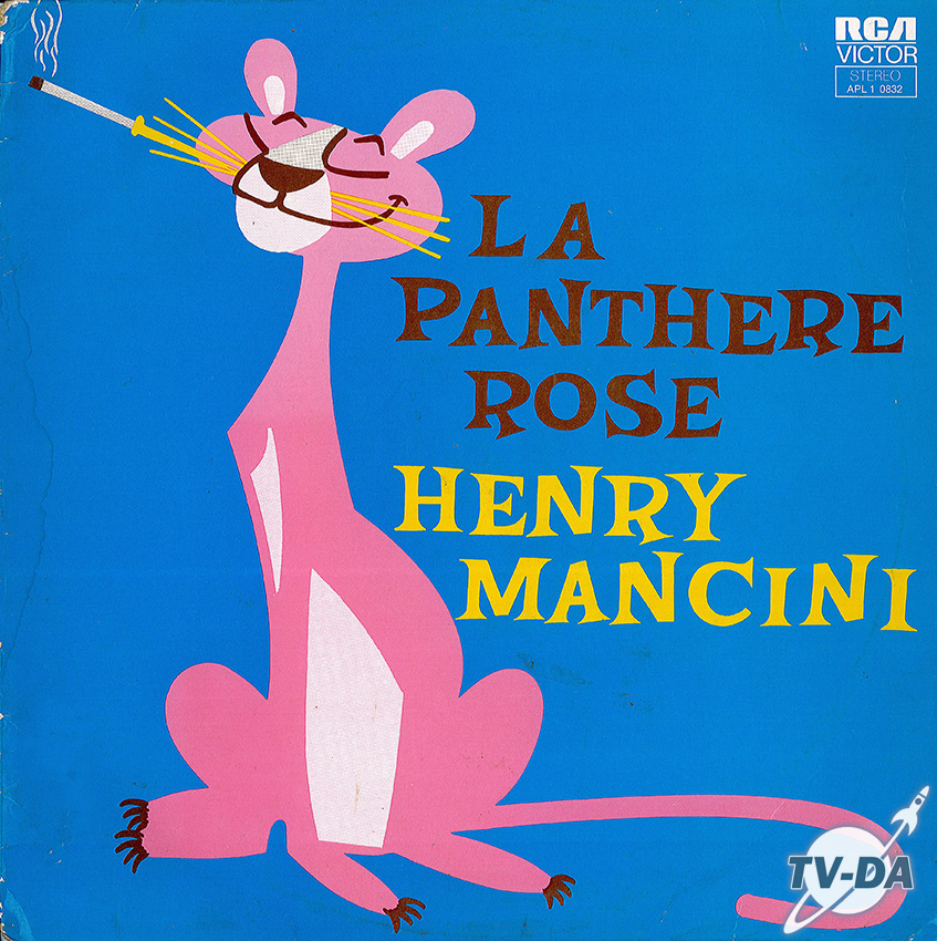 panthere rose henry mancini disque vinyle 33 tours
