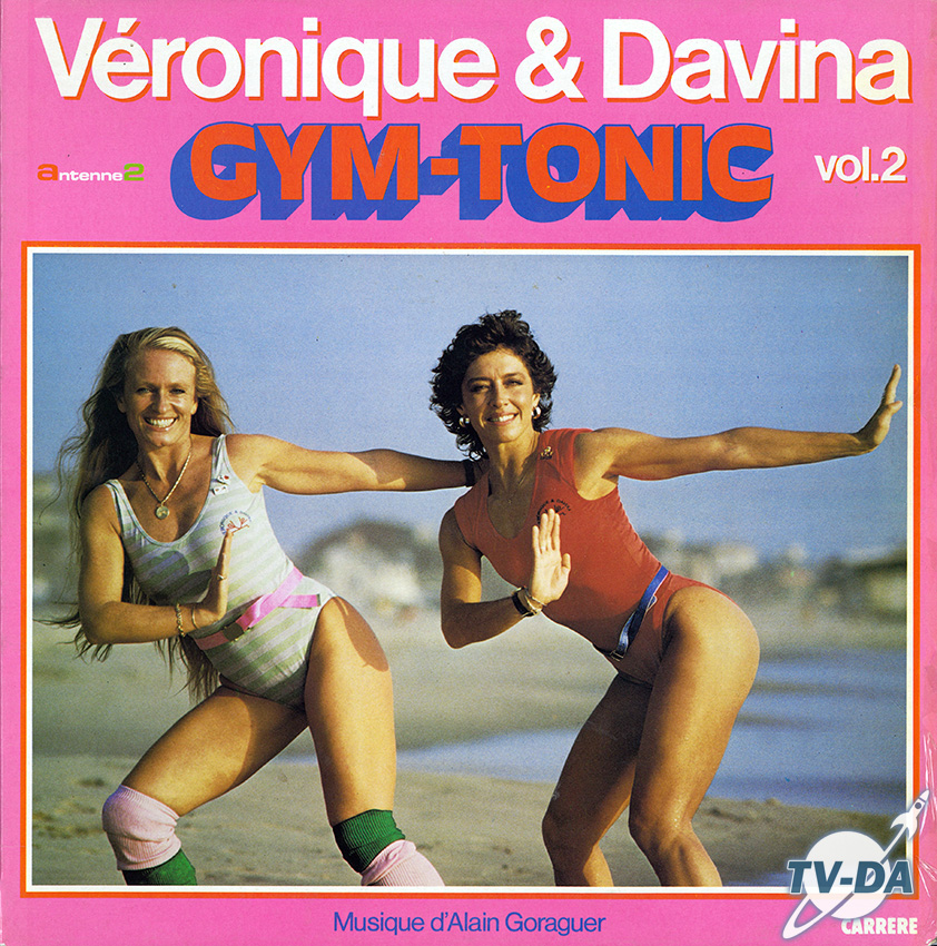 gym tonic veronique davina volume 2 antenne2 disque vinyle 33 tours