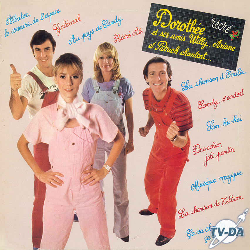 recre a2 dorothee amis willy ariane patrick chantent disque vinyle 33 tours
