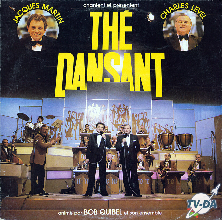 the dansant jacques martin charles level antenne2 disque vinyle 33 tours