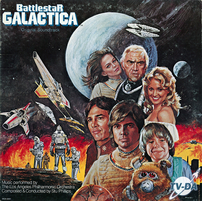 battlestar galactica soundtrack disque vinyle 33 tours