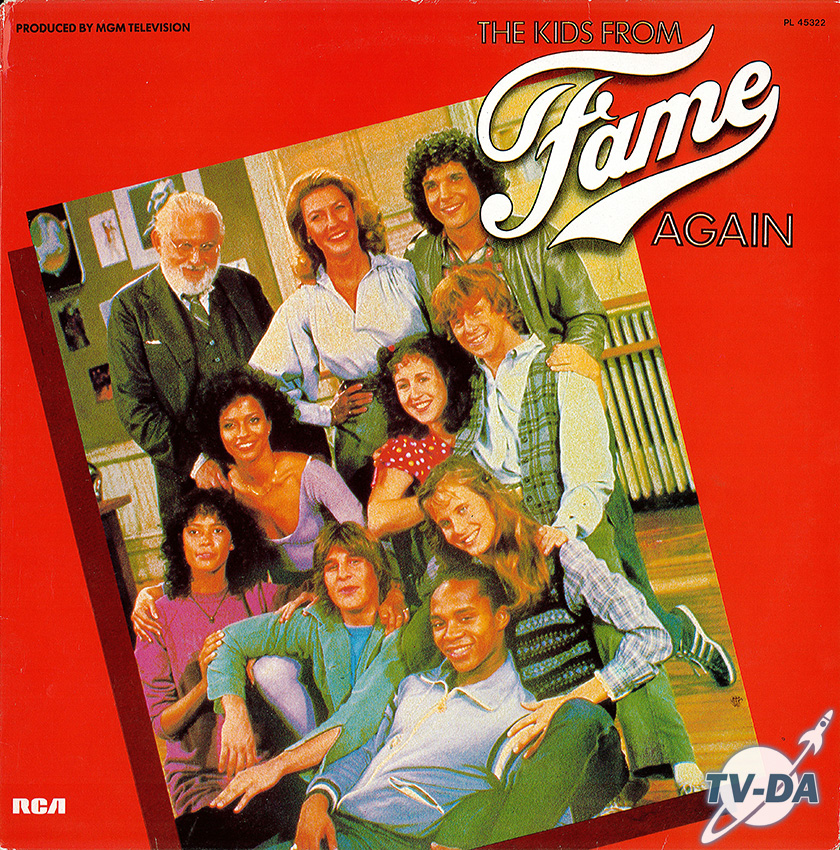 the kids from fame again disque vinyle 33 tours