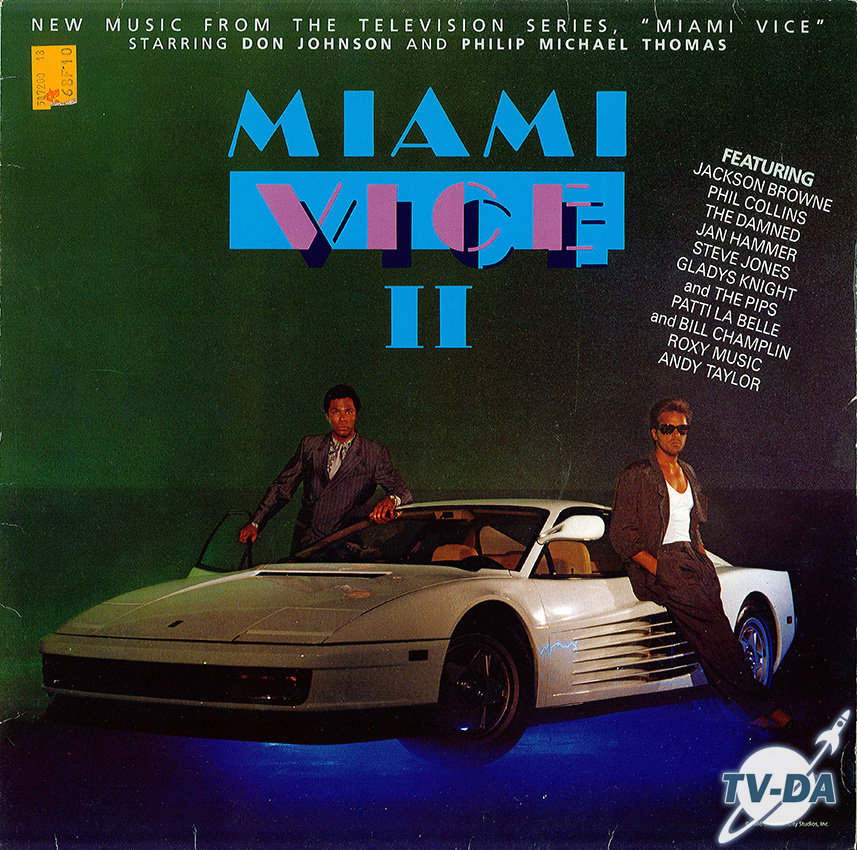 miami vice 2 music television series disque vinyle 33 tours