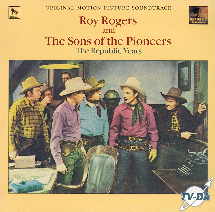 roy rogers original motion picture soudtrack disque vinyle 33 tours