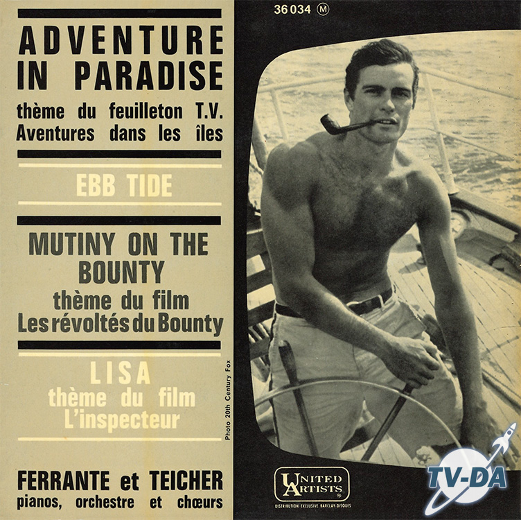 adventure in paradise disque vinyle 45 tours