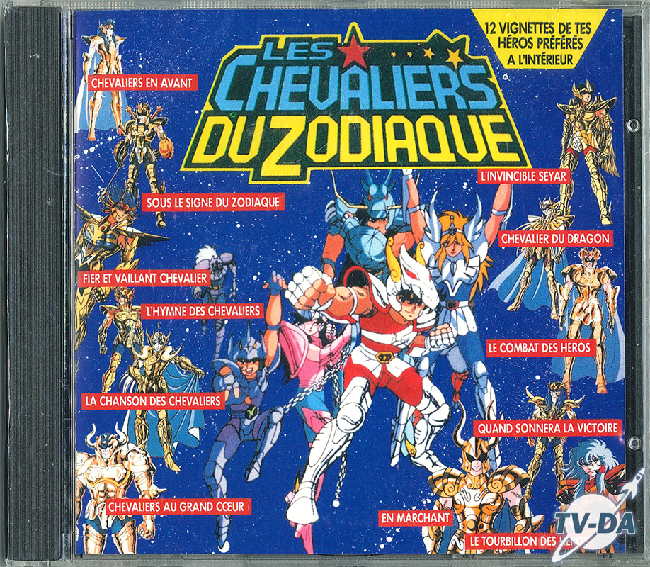cd audio chevaliers zodiaque album
