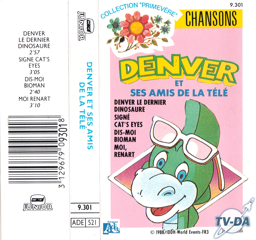 cassette audio denver amis télé
