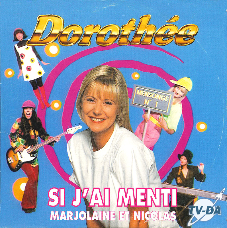 cd audio single dorothee si j ai menti