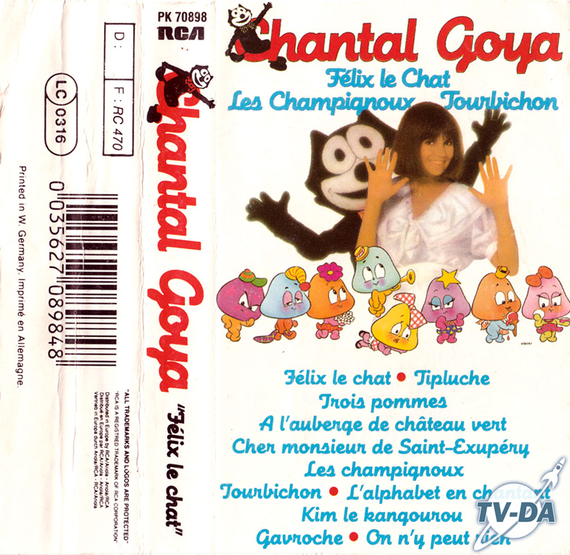 cassette audio chantal goya felix chat
