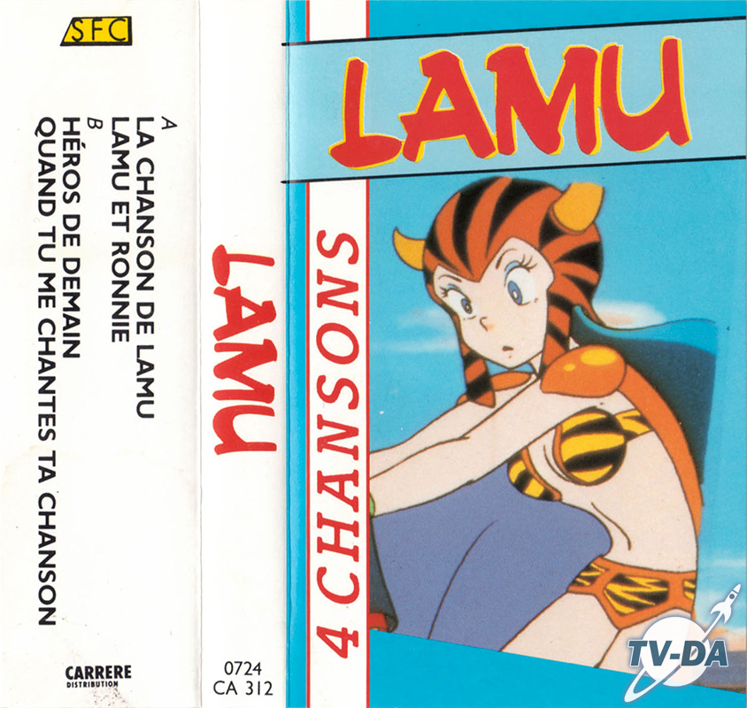 k7 cassette audio lamu 4 chansons sfc