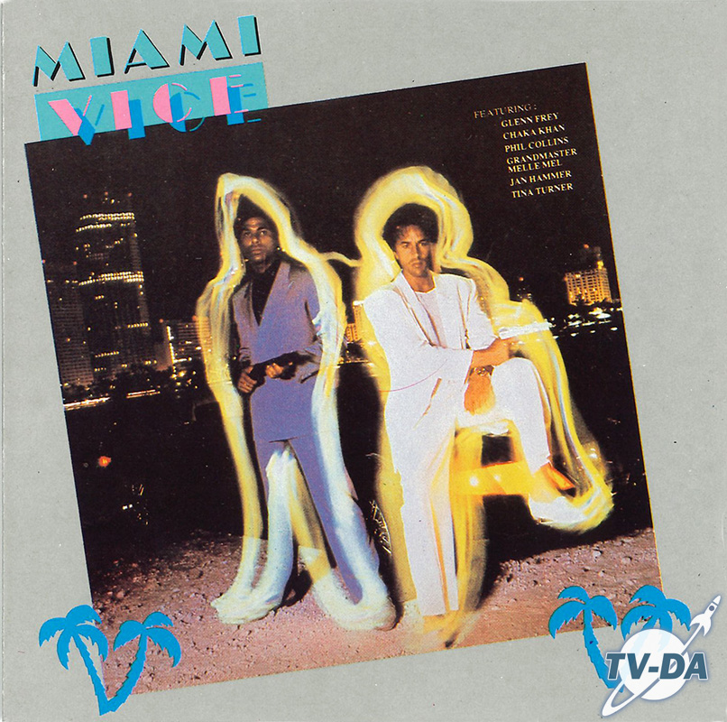 cd album miami vice music television series