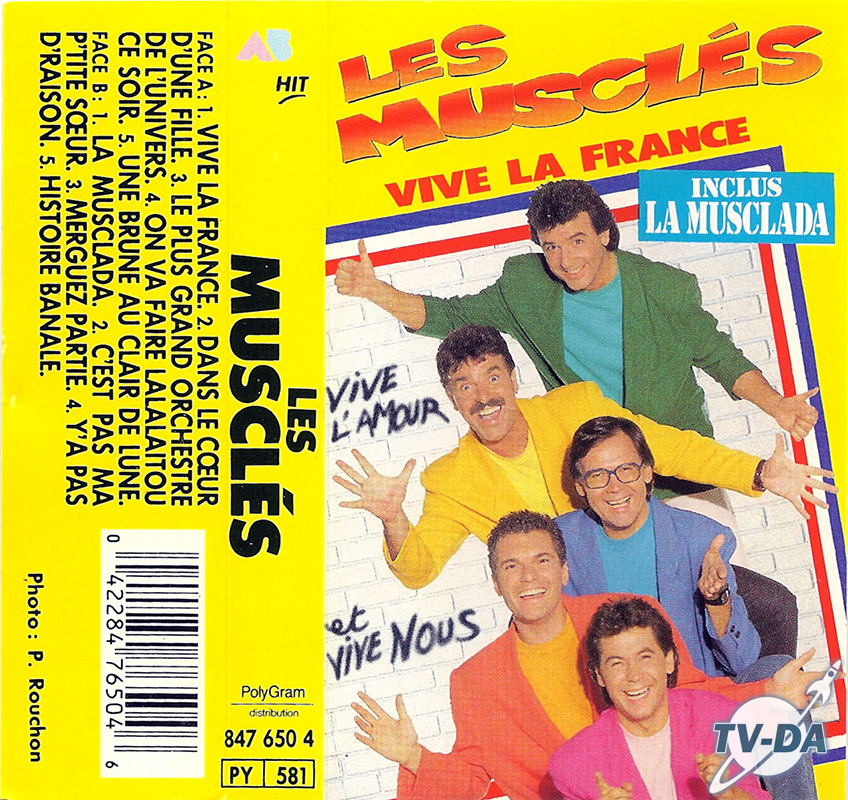 cassette audio muscles vive la france