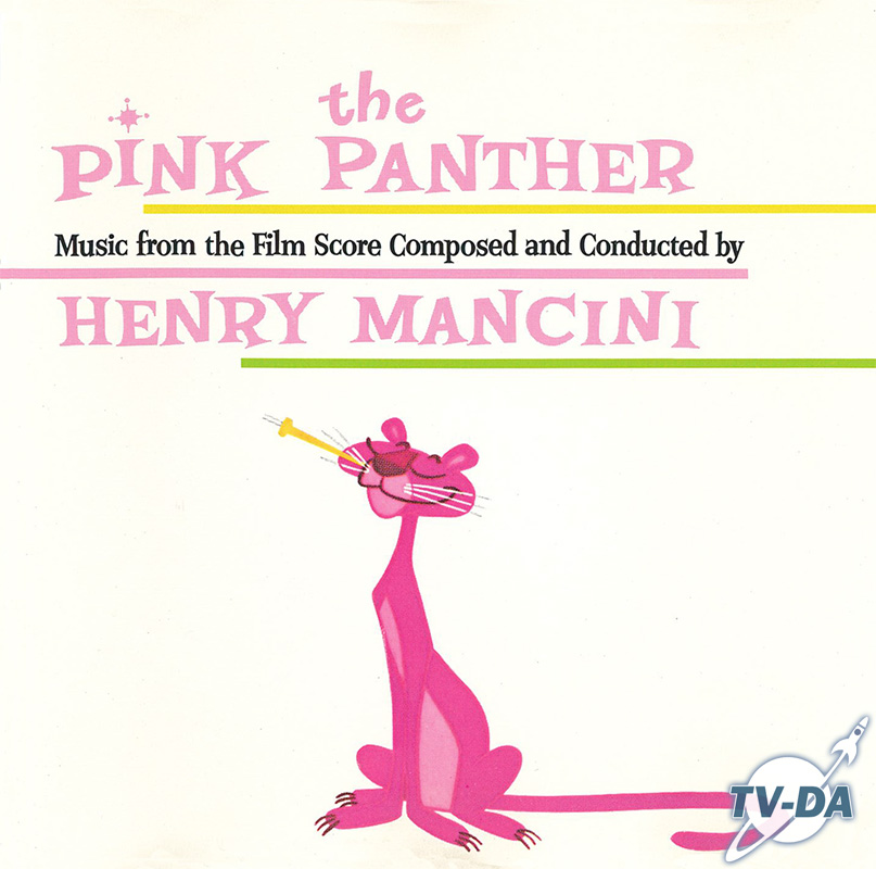cd audio pink panther henry mancini music film