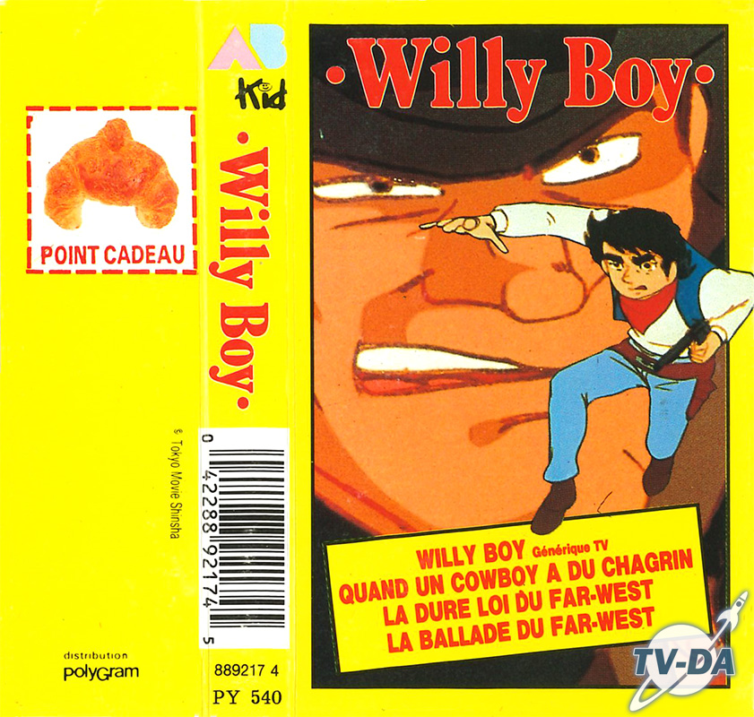 cassette audio willy boy 4 chansons ab kid