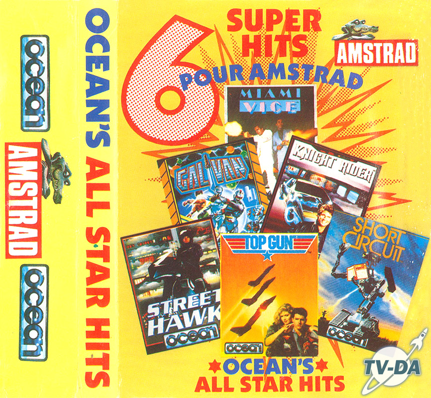 jeu amstrad k7 6 super hits