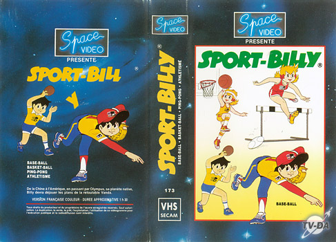cassette video sport billy