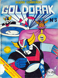 livre goldorak super collection numero 3