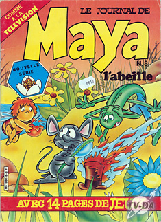 maya l abeille journal numero 8