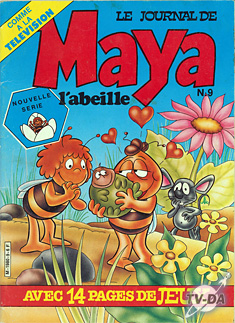 maya l abeille journal numero 9