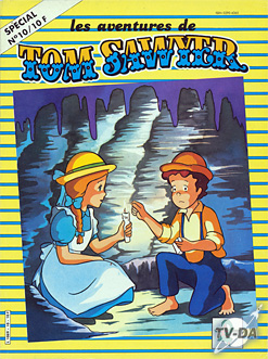 livre tom sawyer special numero 10