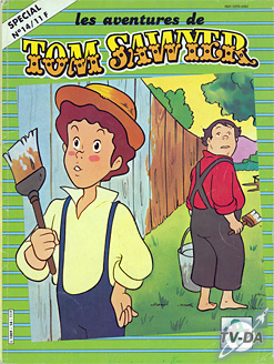 livre tom sawyer special numero 14