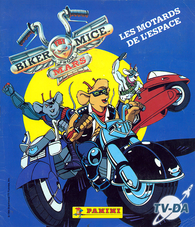 album images panini biker mice motards espace