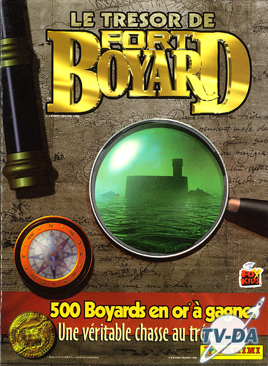 album images panini tresor fort boyard