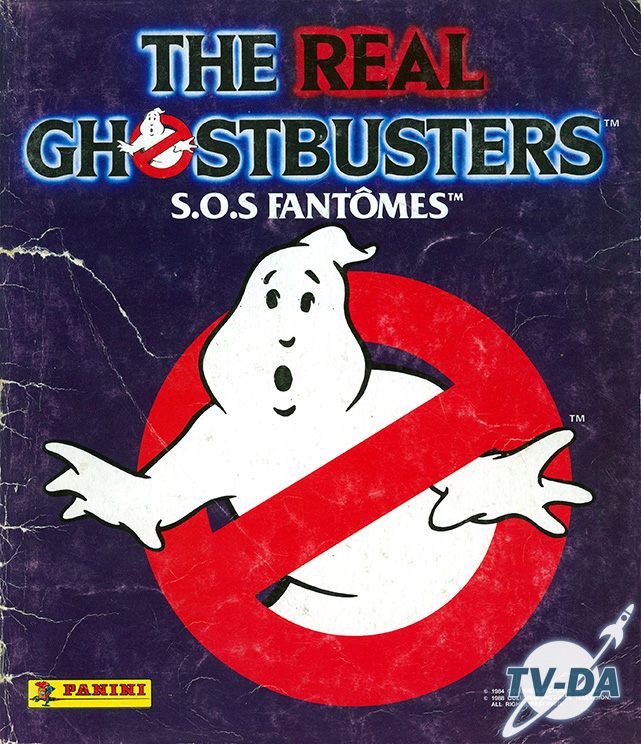 album images panini real ghostbusters sos fantomes