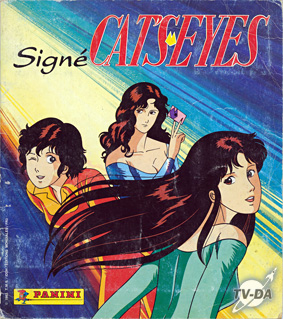 album images panini signe cat's eyes