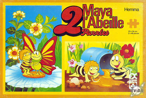 puzzles maya l'abeille et willy