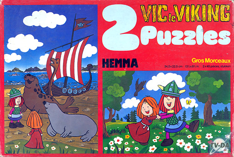 puzzle vic le viking